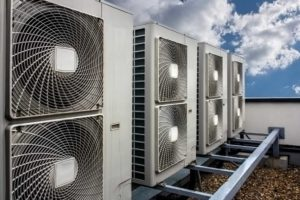 Commercial Air Con Unit on Roof